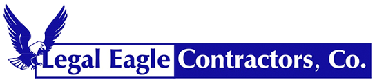 Legal Eagle Contractors logo