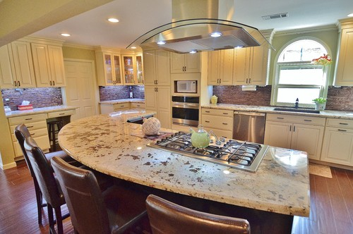 Transitional kitchen remodel.