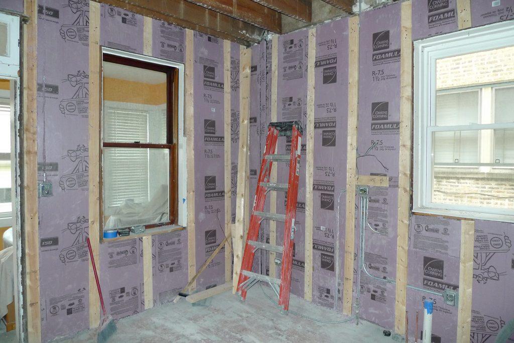 Kitchen demolition for remodeling