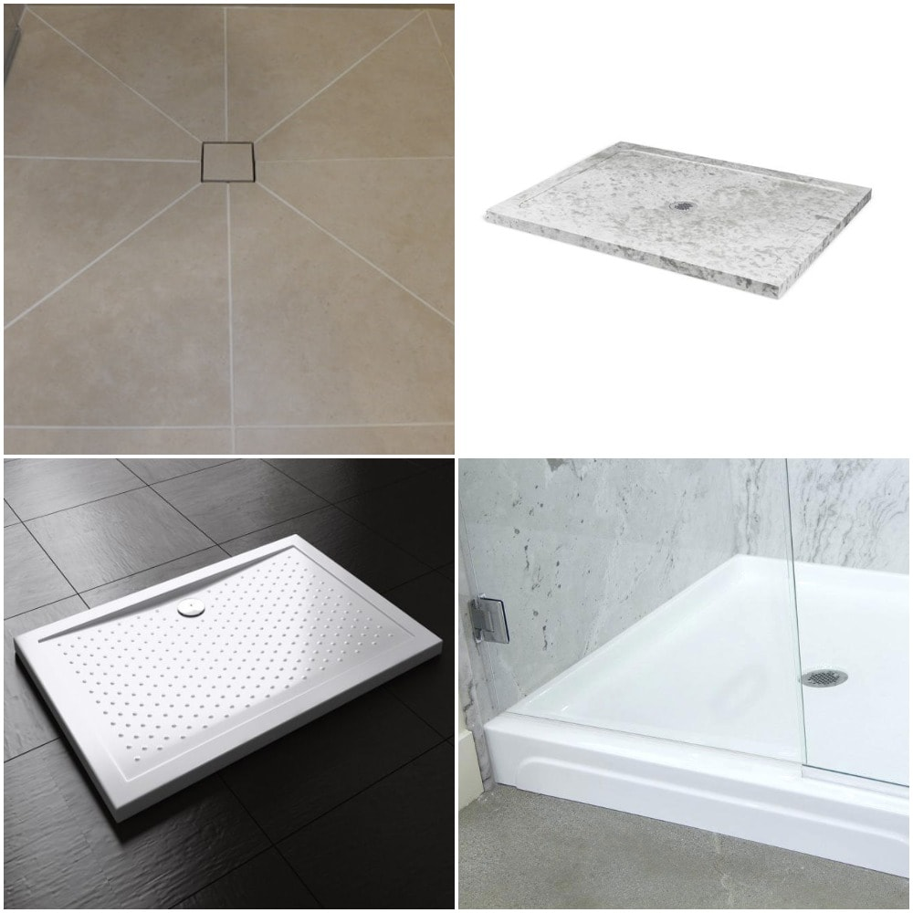 Materials For Shower Bases Pans