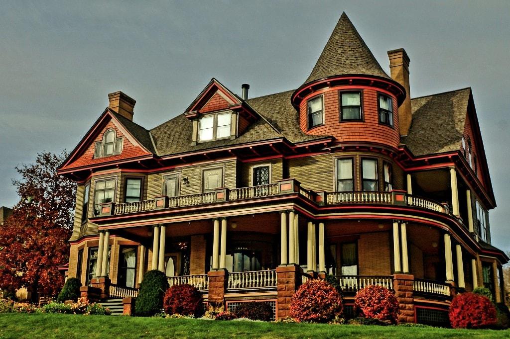 Vintage American house