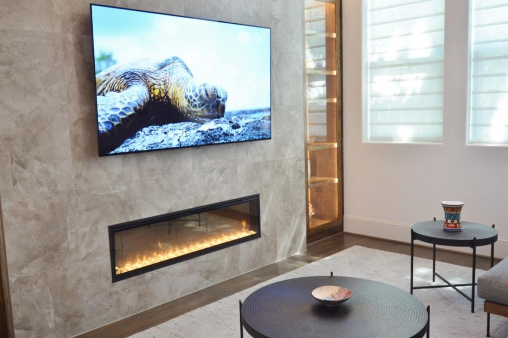 Banks - entertainment center with accompanying furniture