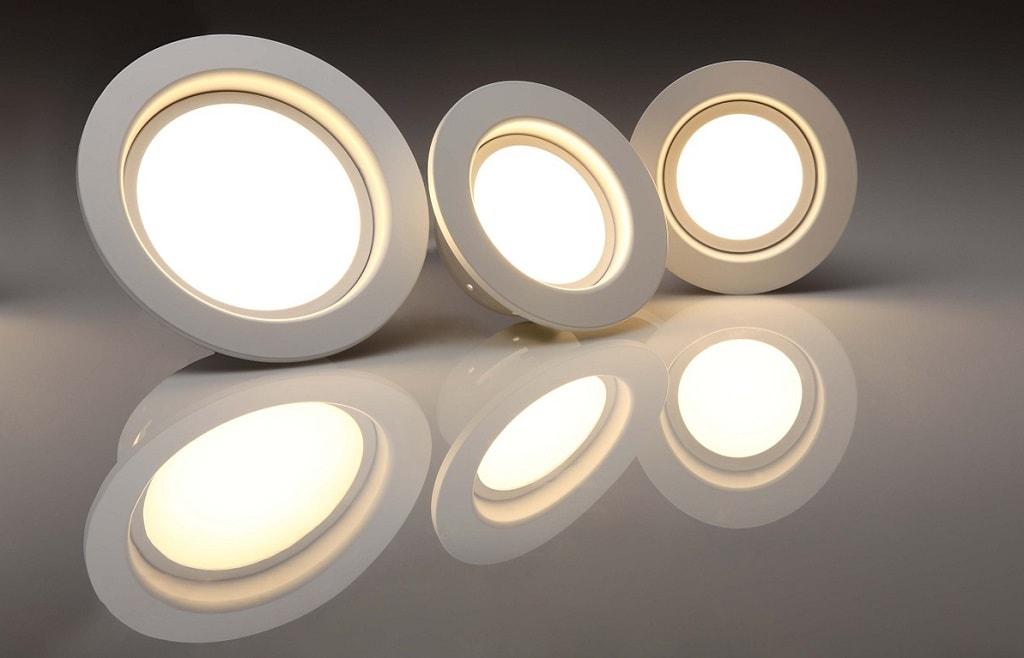 3 LED bulbs